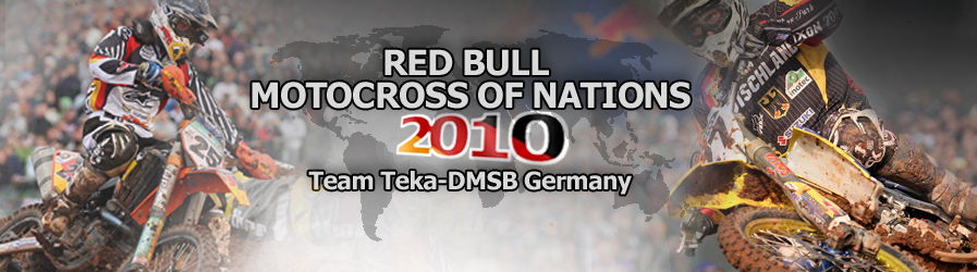Red Bull Motocross of Nations 2010 - Team Teka-DMSB Germany
